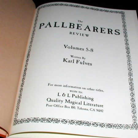 Pallbearers Review: Vols: 5-8 by Karl Fulves