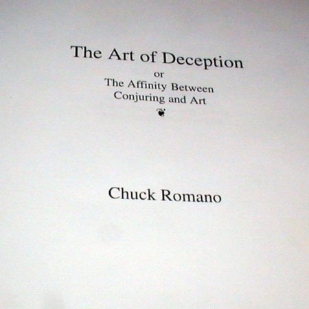 Art of Deception, The by Chuck Romano