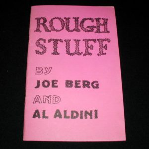 Rough Stuff by Joe Berg, Al Aldini