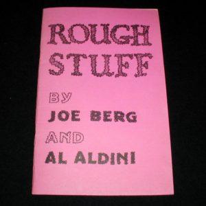 Rough Stuff by Joe Berg, Al Aldini