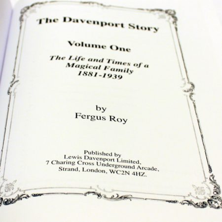 The Davenport Story - Vol. 1 by Fergus Roy