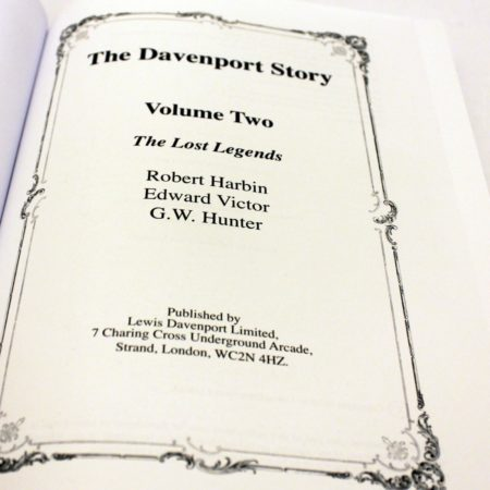 The Davenport Story - Vol. 2 by Fergus Roy