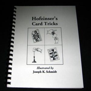 Hofzinser's Card Tricks by Karl Fulves