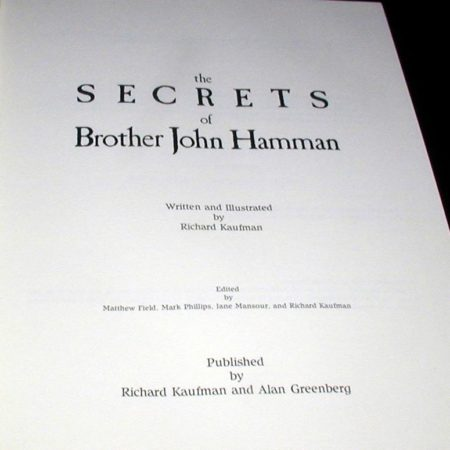 Secrets of Brother John Hamman, The by Richard Kaufman