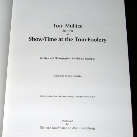 Show Time at the Tom-Foolery by Richard Kaufman