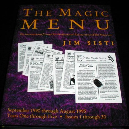 Magic Menu, The. Issues: 1-30 by Jim Sisti