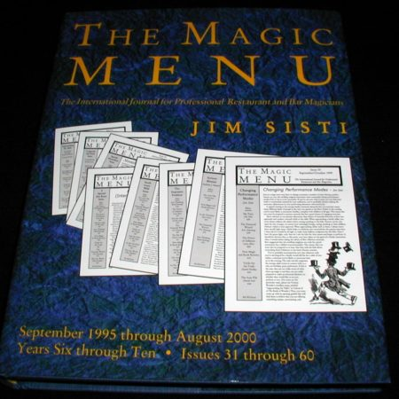 Magic Menu, The. Issues: 31-60 by Jim Sisti