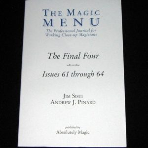Magic Menu, The, Issues: 61-64 by Jim Sisti, Andrew J. Pinard