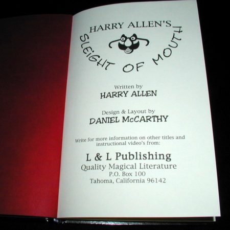 Sleight of Mouth by Harry Allen
