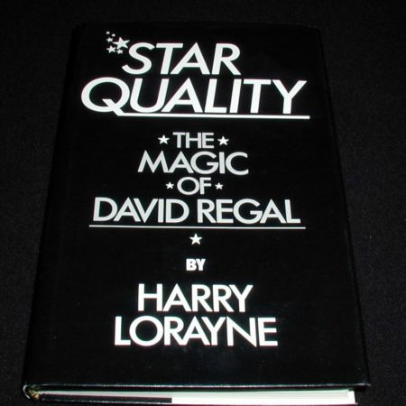 Star Quality: The Magic of David Regal by Harry Lorayne