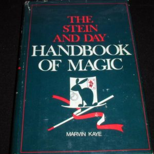 Stein & Day Handbook of Magic, The by Marvin Kaye