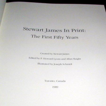 Stewart James In Print by Stewart James