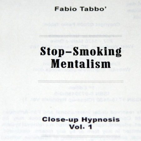 Stop-Smoking Mentalism by Fabio Tabbo