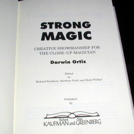 Strong Magic by Darwin Ortiz