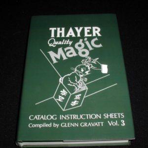 Thayer Quality Magic Vol. 3 by Glenn Gravatt