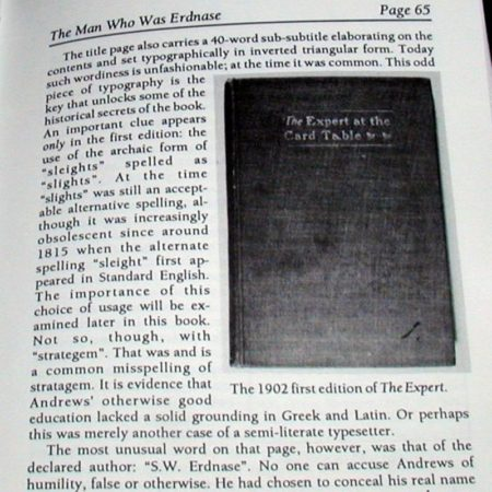 Man Who Was Erdnase, The by Bart Whaley, Martin Gardner, Jeff Busby