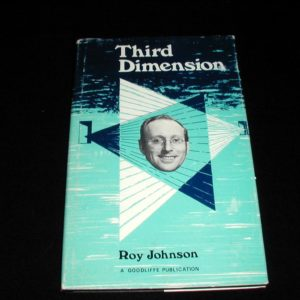Third Dimension by Roy Johnson