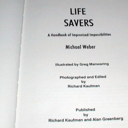 Life Savers by Michael Weber